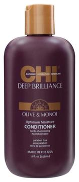 CHI Кондиционер Deep Brilliance Оптимальное Увлажнение, 355 мл chi luxury black seed oil curl defining cream gel