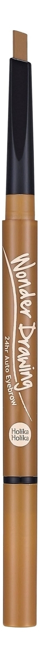 Holika Holika Карандаш Wonder Drawing 24hr Auto Eyebrow 03 Light Brown Автоматический для Бровей с Щеточкой, Светло-Коричневый, 2,2г недорого