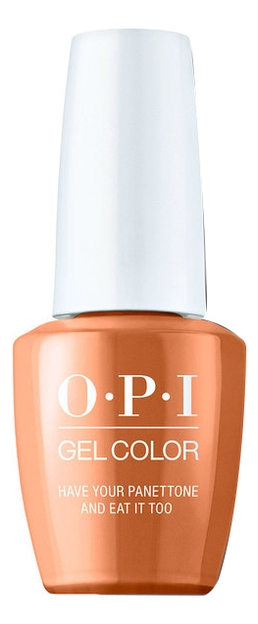 OPI Гель Have Your Panettone and Eat it Too GCMI02 для Ногтей, 15 мл opi лак nail lacquer muse of milan have your panettone and eat it too nlmi02 для ногтей 15мл