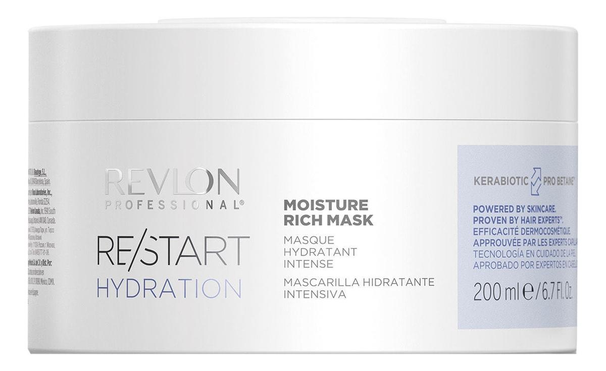 Фото - REVLON Маска Restart Hydration Moisture Rich Mask Интенсивно Увлажняющая, 200 мл medius двойная маска увлажняющая moisture focus 25 мл
