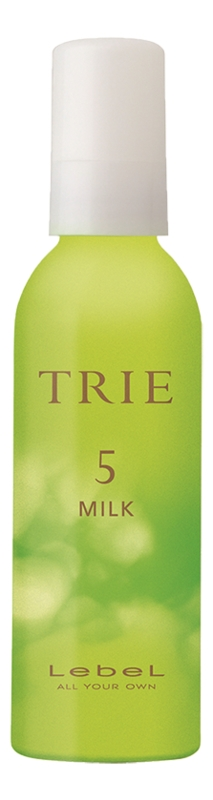 Lebel Cosmetics TRIE MILK 5 Молочко для Укладки Волос Средней Фиксации, 140 мл