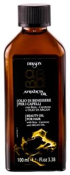 Dikson Масло Argabeta Oil для Ухода за Всеми Типами Волос с Бета-Каротином и Маслом Аргана, 100 мл
