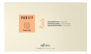Kaaral Лосьон Purify- Reale Vials Интенсивный Восстанавливающий Несмываемый для Поврежденных и Обезвоженных Волос, 12*10 мл ducray неоптид лосьон от выпадения волос для мужчин 100 мл