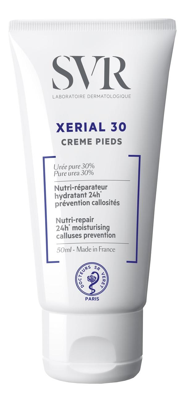 SVR Крем Xerial 30 Creme Pieds для Ног, 50 мл svr xerial 50 крем для ног экстрем сдвойка 2х50 мл