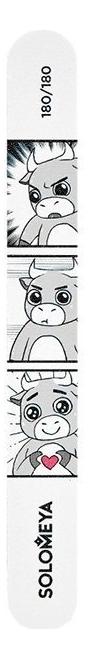 Solomeya Пилка Bull's Love Story 180/180 для Ногтей, 1 шт недорого