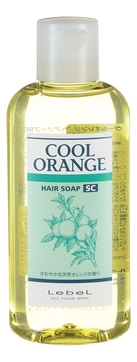 Lebel Cosmetics Cool Orange Sc Hair Soap (Шампунь «Супер Холодный Апельсин»), 200 мл