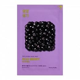 Holika Маска Pure Essence Mask Sheet Acai Berry Витаминизирующая Ягоды Асаи, 20 мл