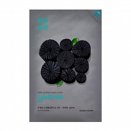 Holika Маска Pure Essence Mask Sheet Charcoal Тканевая Успокаивающая с Углем, 23 мл