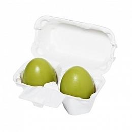 Holika Holika Мыло-Маска Egg Soap Green Tea Ручной Работы с Зеленым Чаем, 2*50г egg organic маска