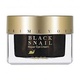 Holika Крем Prime Youth Black Snail Repair Eye Cream для Глаз с Экстрактом Черной Улитки Восстанавливающий, 30 мл