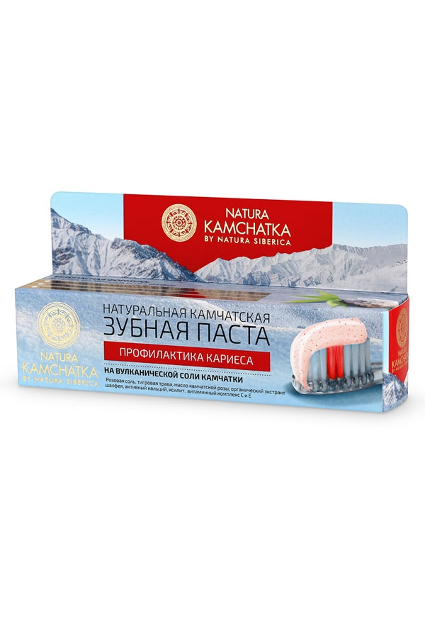 Natura Siberica Натуральная Камчатская Зубная Паста Профилактика Кариеса, 100 мл