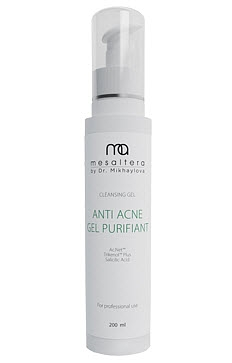 Mesaltera By Dr. Mikhaylova Гель Anti Acne Gel Purifiant, 200 мл nuxe aroma perfection gel nettoyant purifiant