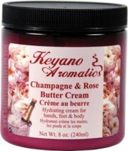Keyano Aromatics Крем Шампанское и Розы, 236 мл