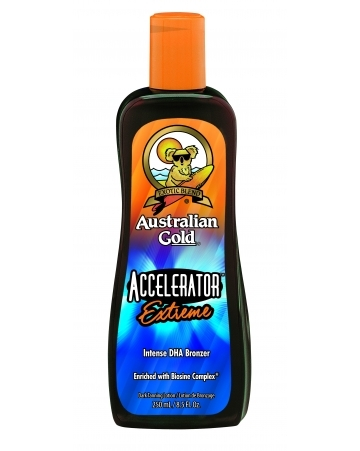 Australian Gold Лосьон-Активатор Выработки Собственного Меланина с Бронзирующим Комплексом Accelerator Extreme, 250 мл цена в Москве и Питере