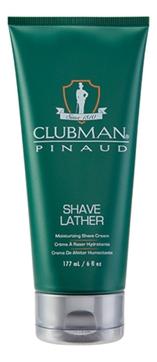 Clubman Крем-Пена Shave Lather для Бритья Увлажняющая, 177 мл