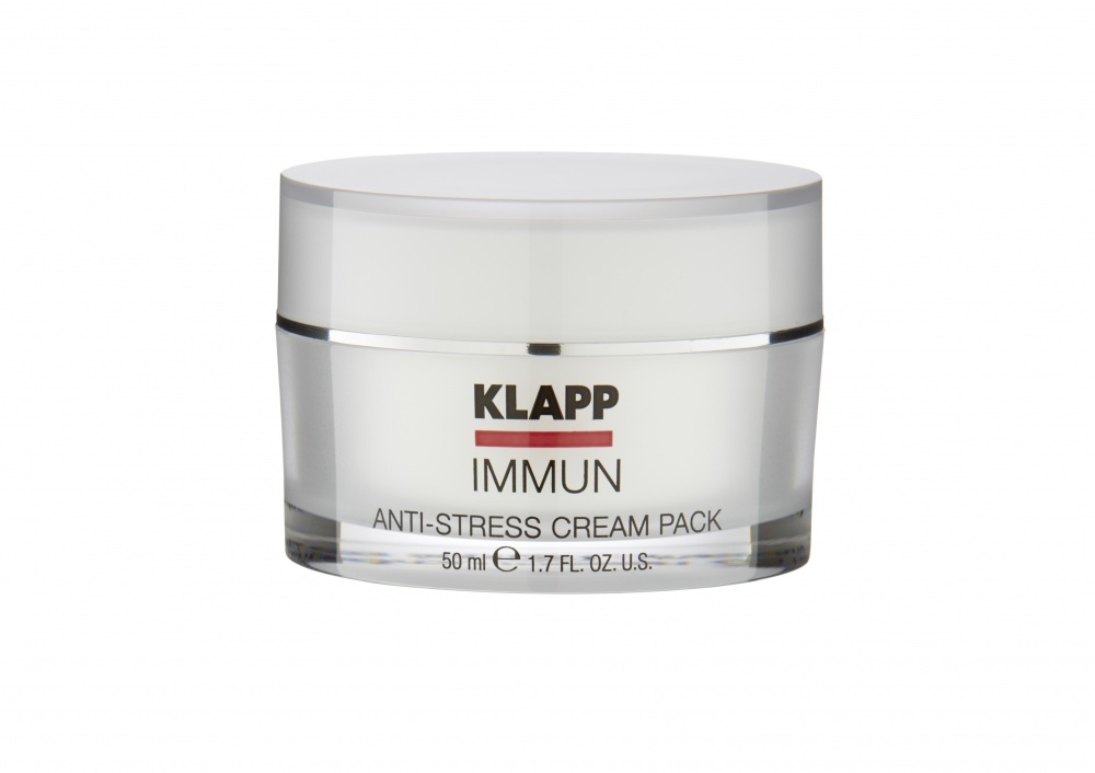 Klapp Крем-Маска Anti-Stress Cream Pack Анти-стресс, 50 мл