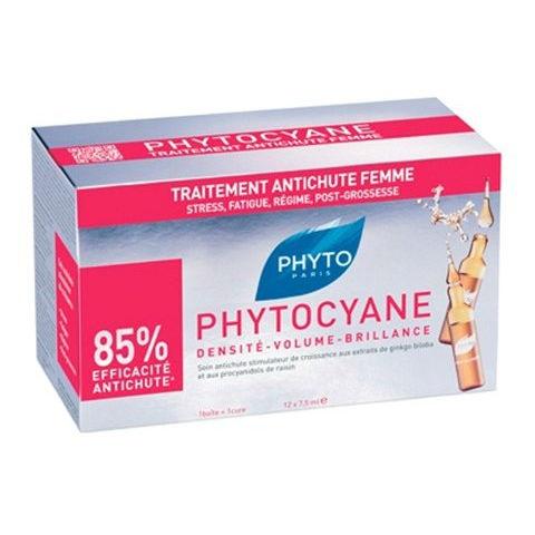 Phyto Набор Phytocyane Программа Фитоциан