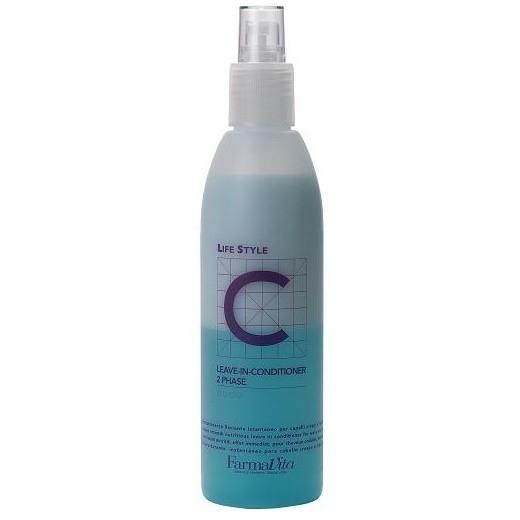 Farmavita Выпрямитель для Вьющихся Волос C Leave in Conditioner 2 Phase, 500 мл