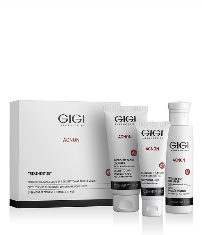 GIGI Набор AN Set для Борьбы с Проблемной Кожей bergamo набор средств по уходу за кожей для интенсивного восстановления luxury gold set