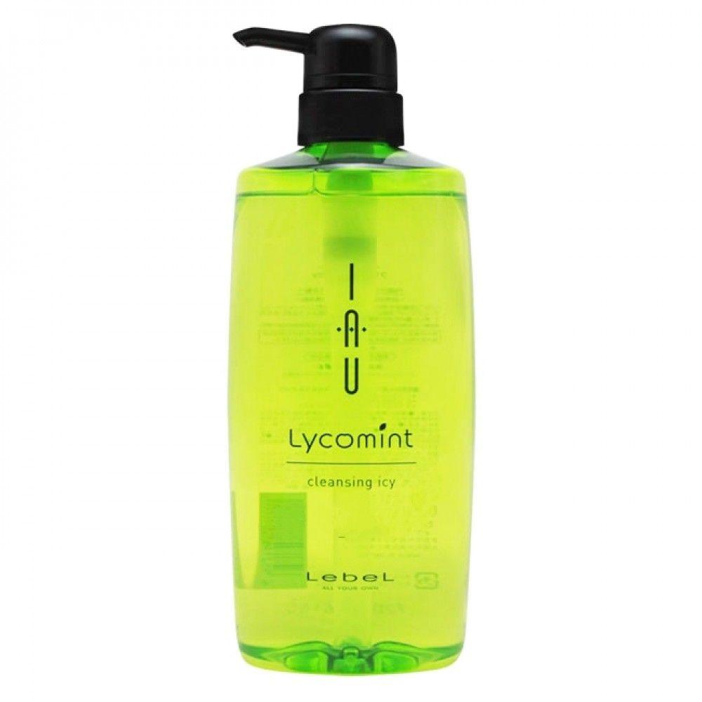 Lebel Cosmetics Iau Lycomint Cleansing Icy Охлаждающий Антиоксидантный Шампунь, 600 мл