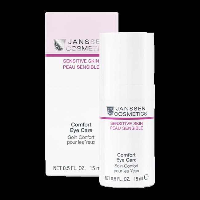 Фото - JANSSEN COSMETICS Крем Comfort Eye Care для Чувствительной Кожи вокруг Глаз, 15 мл janssen cosmetics крем rich eye contour cream питательный для кожи вокруг глаз 30 мл
