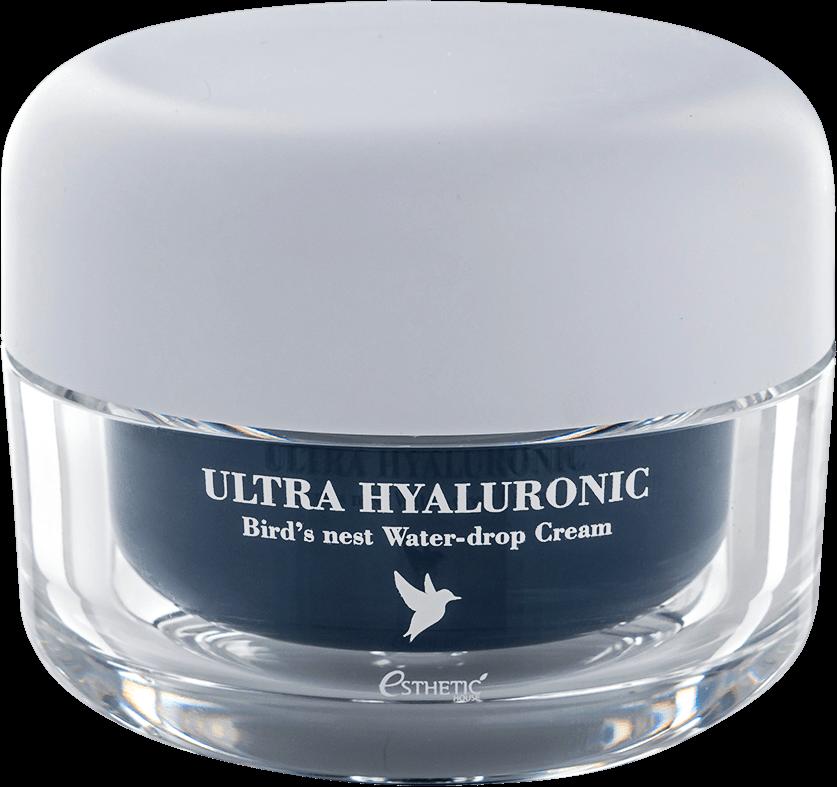 Esthetic House Крем Ultra Hyaluronic acid Bird's nest Water- drop Cream для Лица Ласточка Гиалурон, 50 мл крем для лица ullex hyaluronic acid