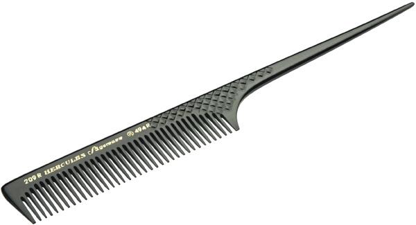 Hercules Расческа, Хвостик Пластмастмассовый hercules расческа толстый хвостик с редкими зубцами