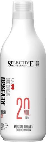 "Selective Professional Оксигент для Крем-Краски ""Reverso Hair Color"" Reverso Oxy 6%, 1000 мл"