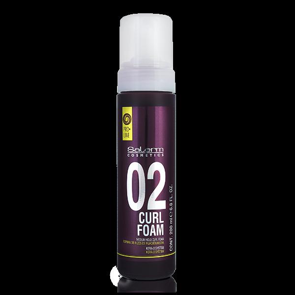 Salerm Cosmetics Пенка Curl Foam для Создания Кудрей Средней Фиксации, 200 мл недорого