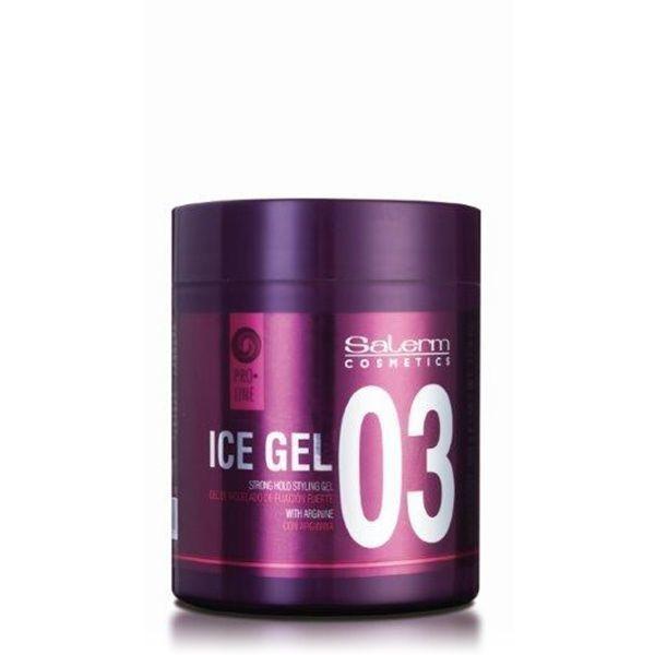 Salerm Cosmetics Гель Ice Gel Сильной Фиксации, 200 мл
