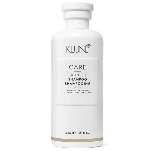 Keune Шампунь Care Satin Oil Shampoo Шелковый Уход, 300 мл