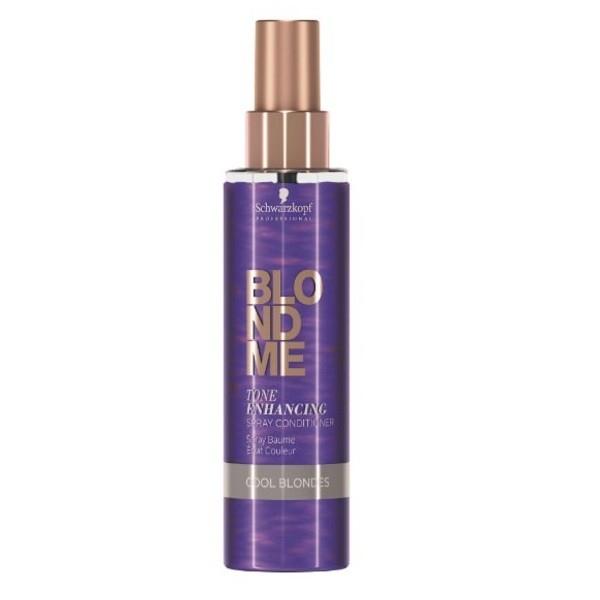 Schwarzkopf Спрей-Кондиционер для Холодных Оттенков Блонд BlondMe Tone Enhancing Spray Conditioner Cool, 150 мл