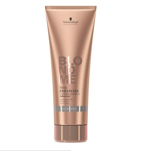 Schwarzkopf Бондинг-Шампунь для Поддержания Холодных Оттенков Блонд Blondme Tone Enhancing Bonding Shampoo Cool Blondes, 250 мл
