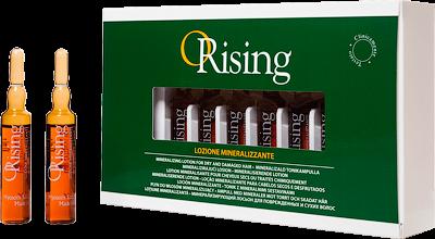 Orising Лосьон Lizione Mineralizzante Минерализующий для Сухих и Поврежденных Волос, 12*10 мл
