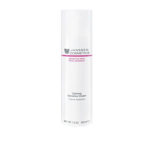 Janssen Крем Calming Sensitive Cream Успокаивающий, 200 мл успокаивающий тонер для лица ac collection calming liquid intensive 125мл