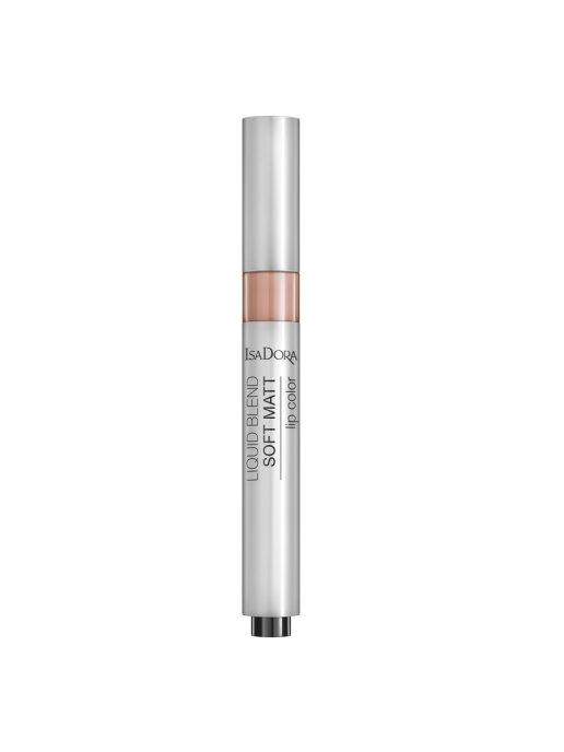 IsaDora Помада Liquid Blend Soft Matt Lip Color 80 для Губ Жидкая Матовая, 3 мл недорого