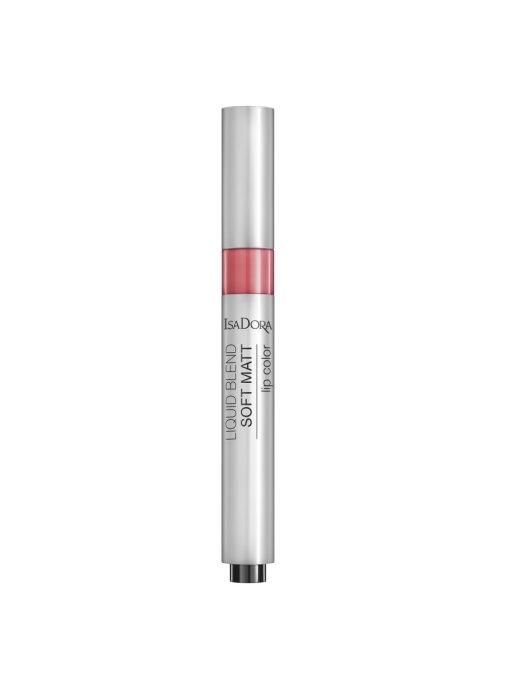 IsaDora Помада Liquid Blend Soft Matt Lip Color 84 для Губ Жидкая Матовая, 3 мл недорого