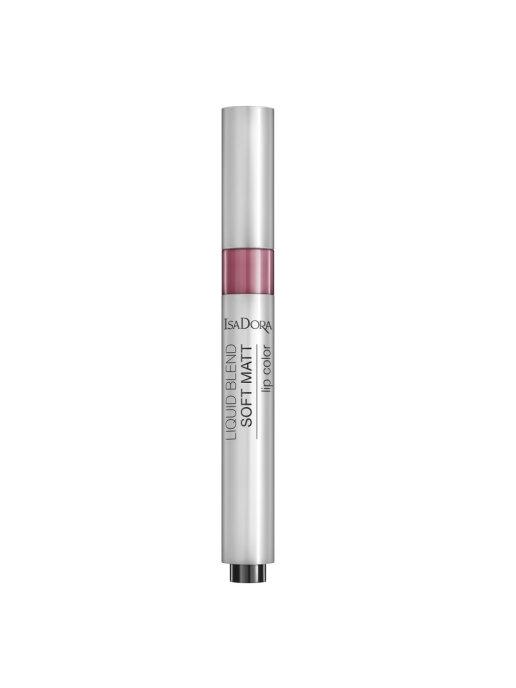 IsaDora Помада Liquid Blend Soft Matt Lip Color 86 для Губ Жидкая Матовая, 3 мл
