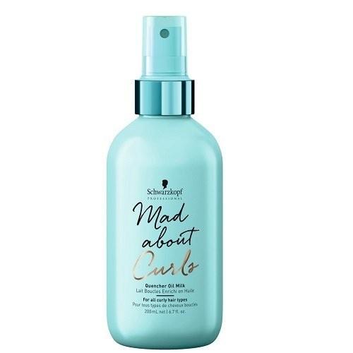 купить Schwarzkopf Масляное Молочко для Тонких, Нормальных и Жестких Волос Mad About Curls, 200 мл онлайн