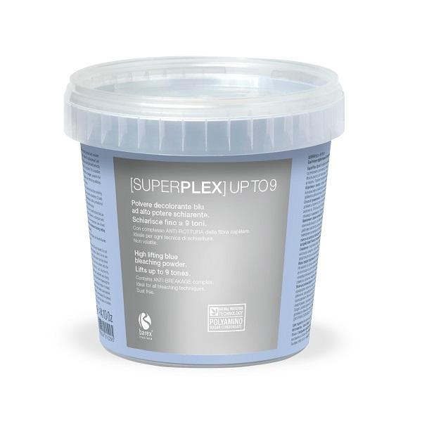 Barex Порошок Superplex - Up To 9 Голубой Обесцвечивающий, 400г 79l18 to 9