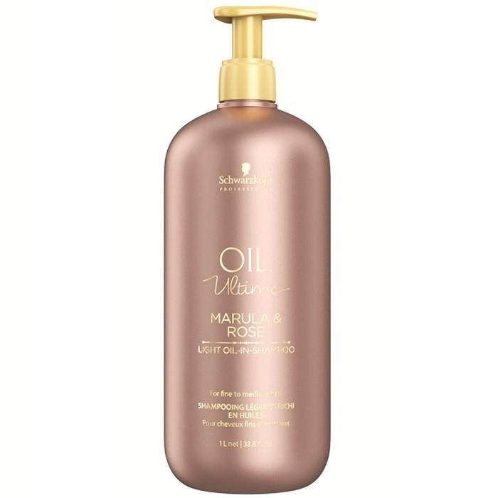 Schwarzkopf Шампунь для Тонких и Нормальных Волос Oil Ultime lignt-Oil-in-Shampoo 1000 мл ea2 en205