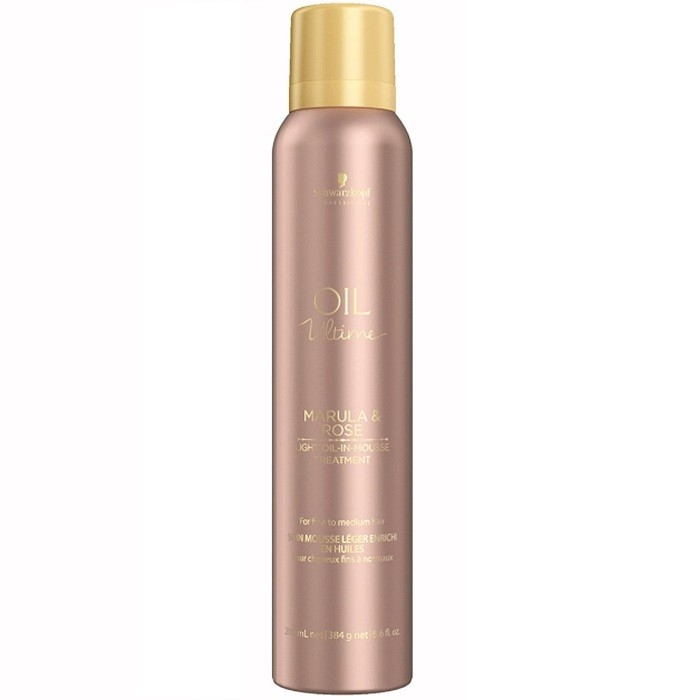 Schwarzkopf Маска-Мусс Oil Ultime, 200 мл schwarzkopf маска мусс oil ultime lignt oil in mousse 500 мл