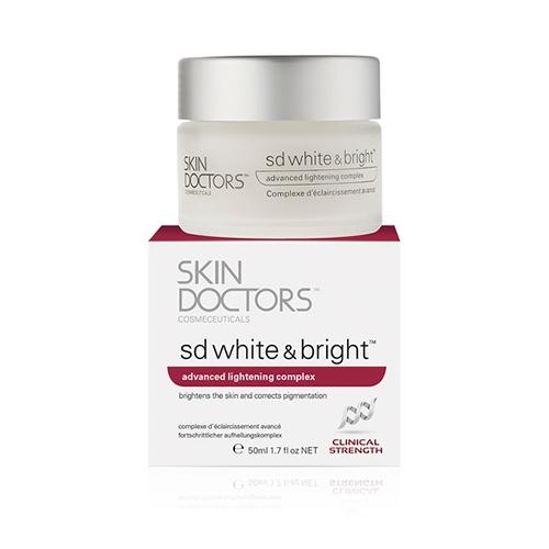 Skin Doctors Cosmeceuticals Отбеливающий Крем для Лица и Тела SD White & Bright, 50 мл ахромин крем для лица отбеливающий 45 мл
