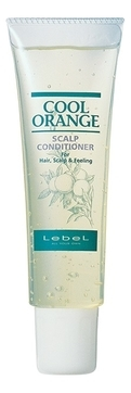 Lebel Cosmetics Cool Orange Scalp Conditioner (Очиститель для Жирной Кожи Головы) - 240г lebel cosmetics cool orange scalp