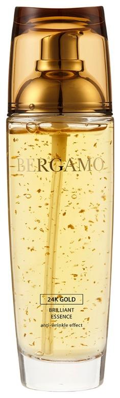Bergamo Сыворотка Антивозрастная с Золотом 24K Gold Brilliant Essence, 110 мл