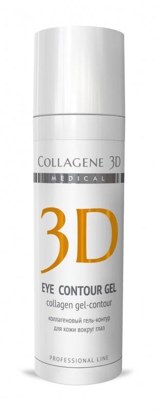 цена Collagene 3D Гель-контур для глаз с янтарной кислотой Anti Wrinkle, 30 мл онлайн в 2017 году