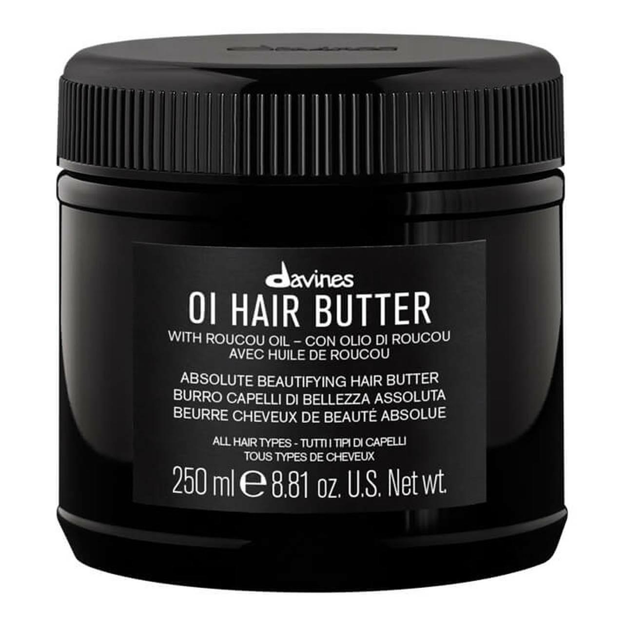 Davines Масло Питательное для Абсолютной Красоты Волос OI Hair Butter, 250 мл davines кондиционер для абсолютной красоты волос 250 мл
