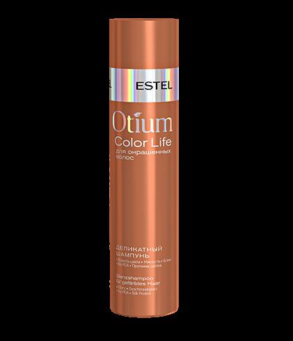 ESTEL Шампунь Otium Color Life Деликатный для Окрашенных Волос, 250 мл шампунь teana k3 сияющий ангел 250 мл