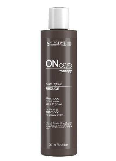 Selective Professional Reduce Shampoo Шампунь Восстанавливающий Баланс Жирной Кожи Головы, 250 мл