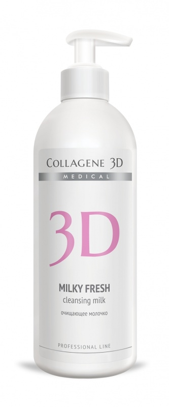 Collagene 3D Молочко очищающее Milky, 500 мл medical collagene 3d milky fresh 500